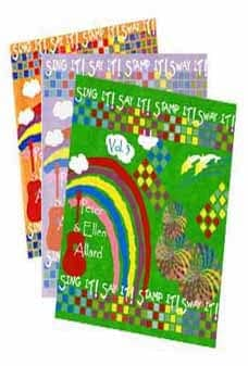 Sing It! Say It! Stamp It! Sway It! 3 Song/Activity Book Package