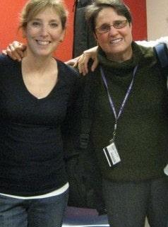 Ellen & Debbie at HUC